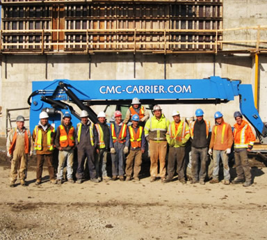 Industry-leading mausoleum construction team at CMC