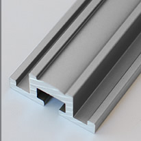 Aluminum Extrusion With Satin Finish for Glass Front Niches