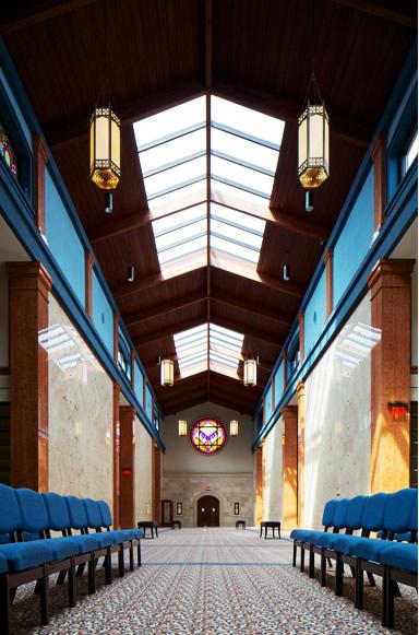 Indoor Chapel Mausoleum Construction Project by CMC